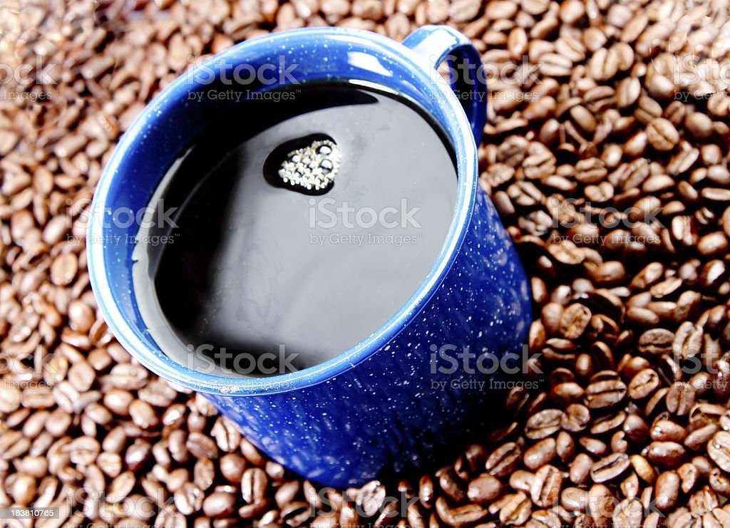 Cowboy Coffee royalty-free stock photo