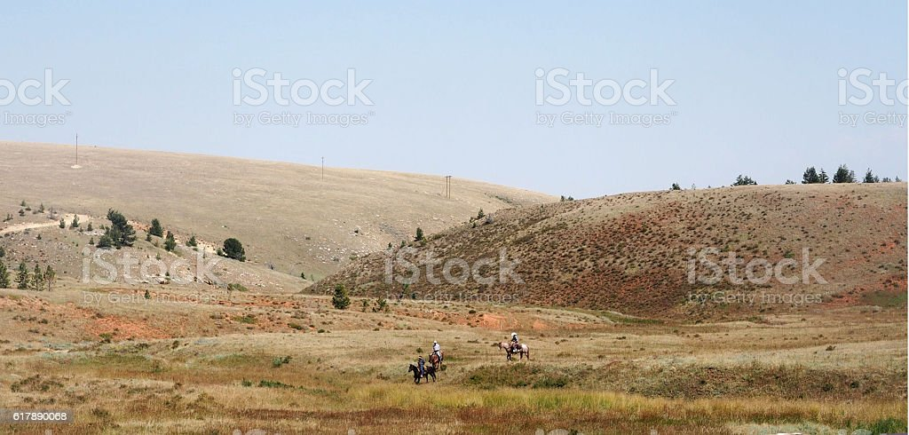 Cowboy Country stock photo