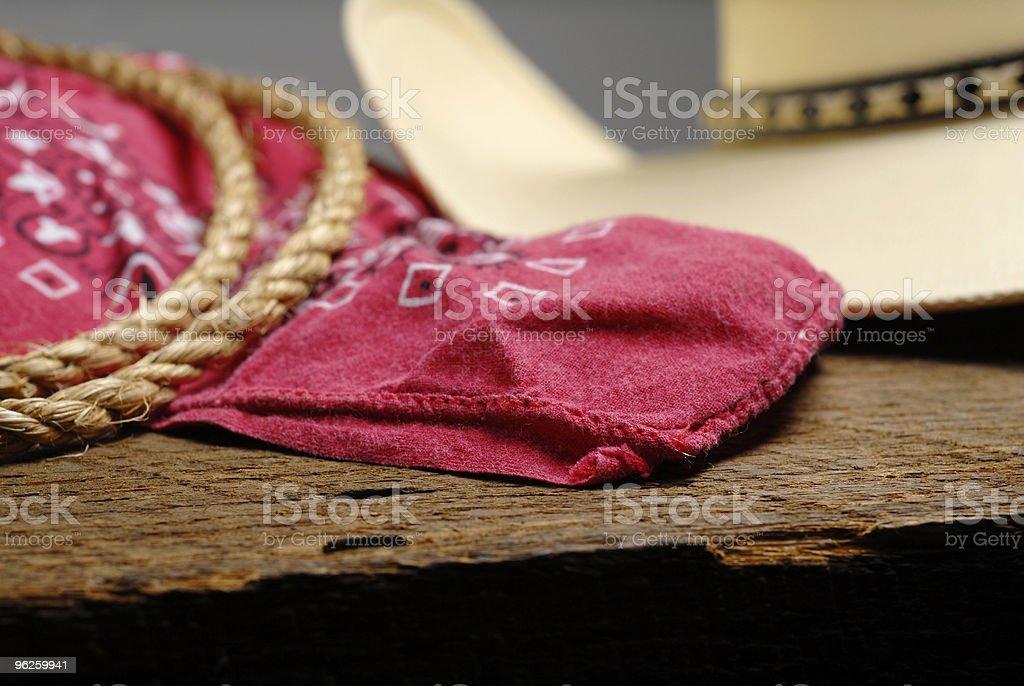 Cowboy Gear royalty-free stock photo