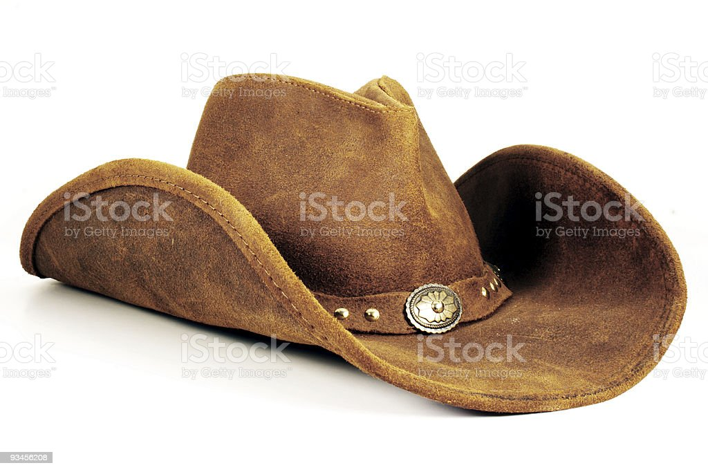 Cowboy Hat stock photo