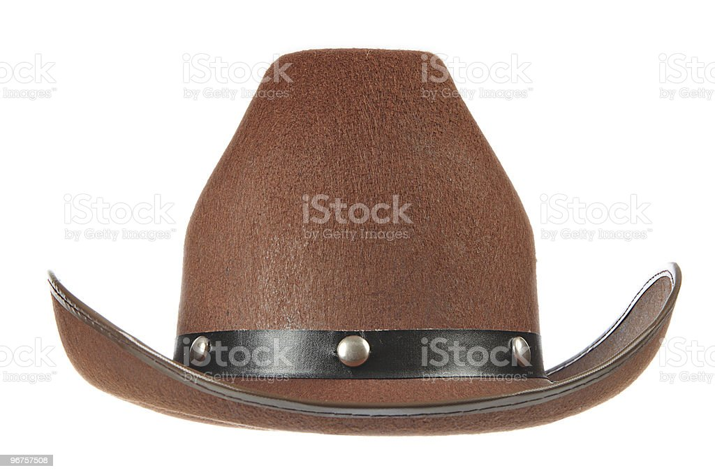 Cowboy Hat royalty-free stock photo
