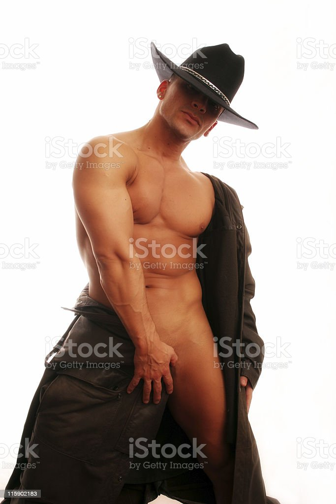 Cowboy in Private royalty-free stock photo