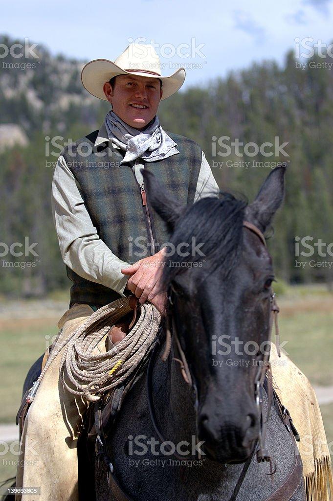 Cowboy stock photo