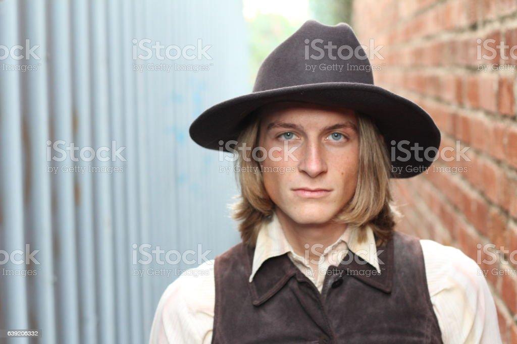 SOUTH WEST - A cowboy stock photo