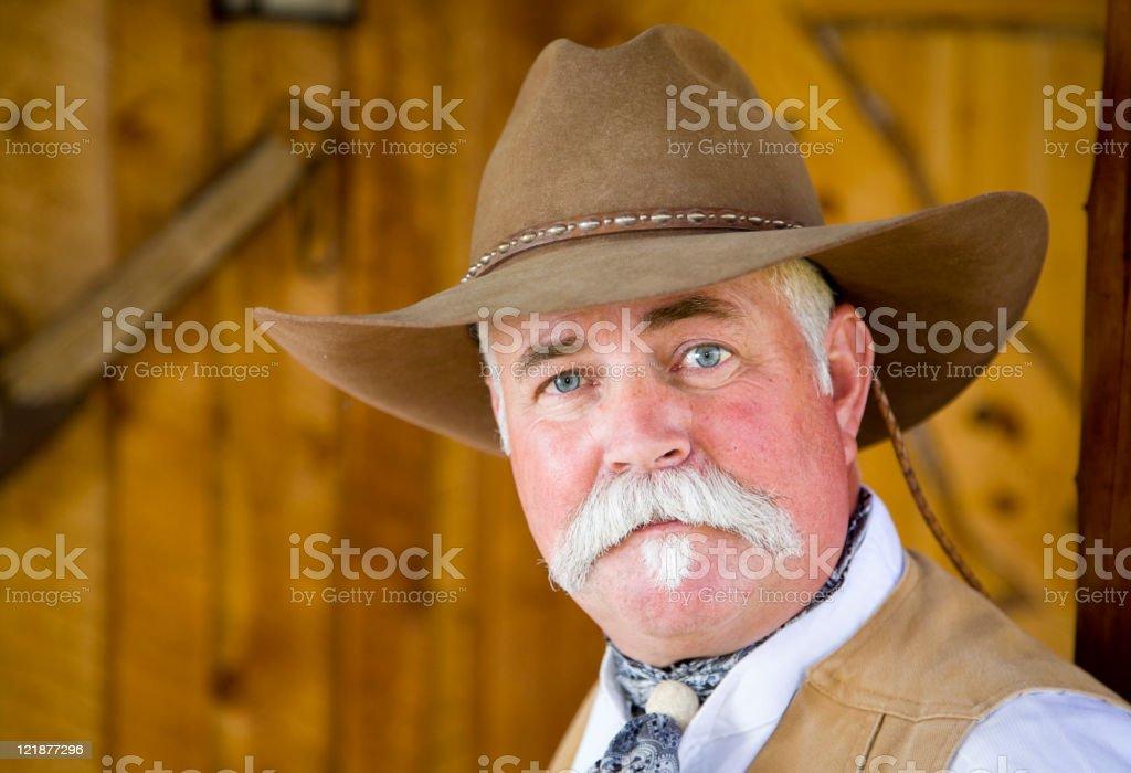 Cowboy Portrait royalty-free stock photo