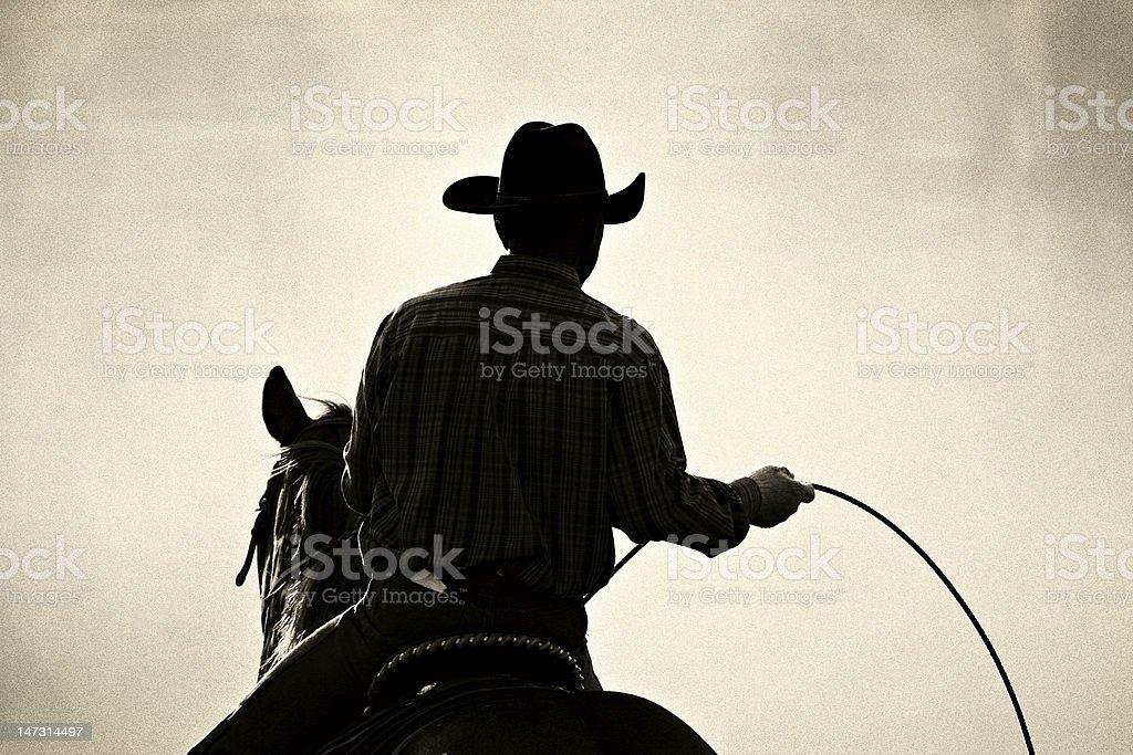 cowboy rodeo stock photo
