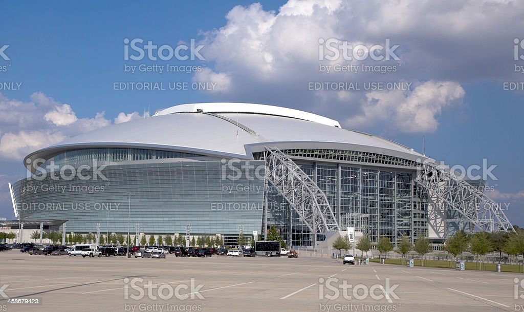 Cowboy Stadium stock photo