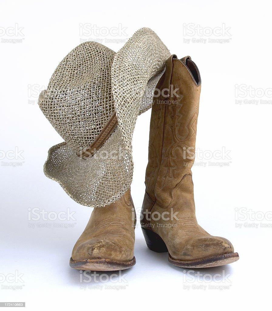 Cowboy Stuff royalty-free stock photo
