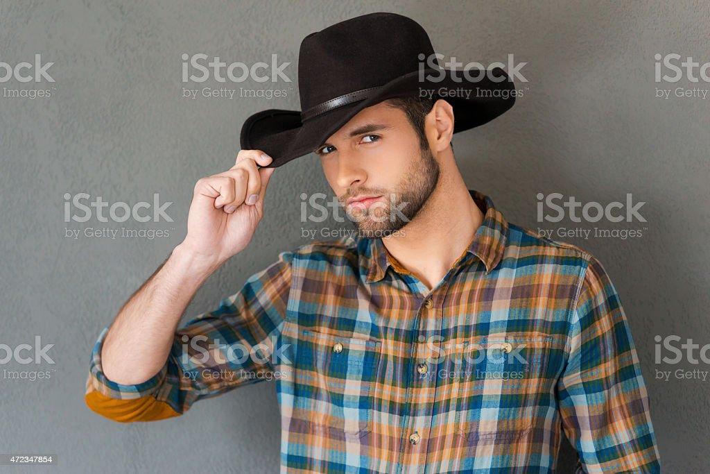 Cowboy style. stock photo