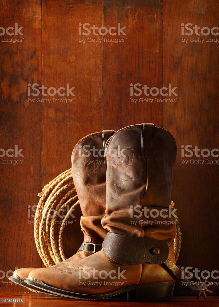 Cowboy Theme stock photo