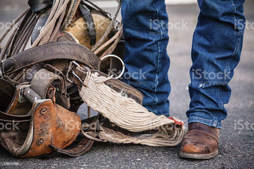 Cowboys attributes. royalty-free stock photo