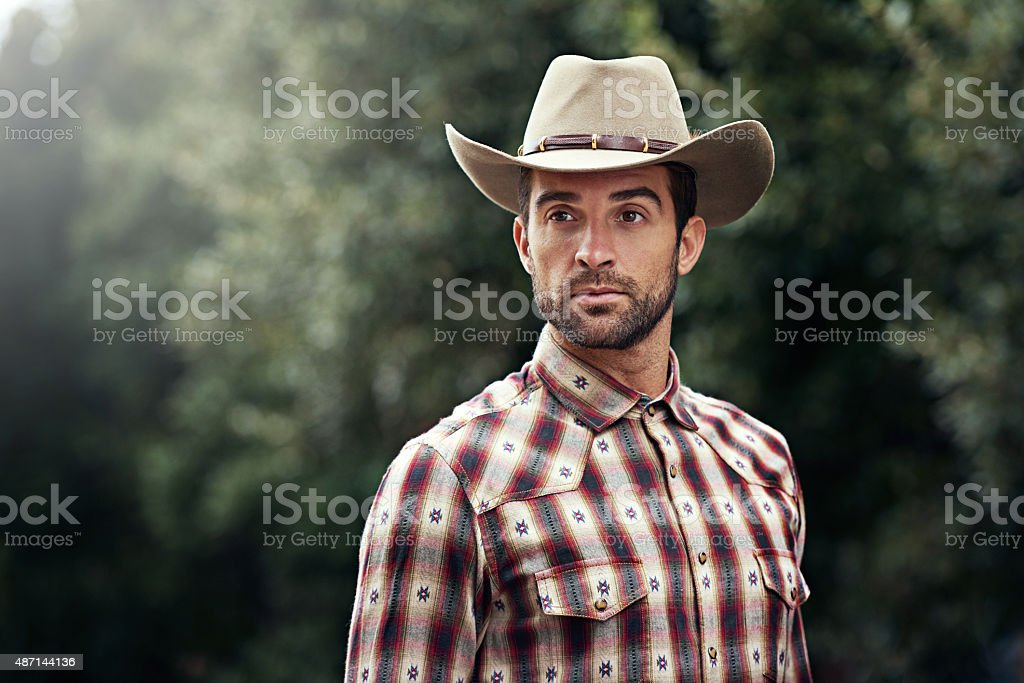 Cowboys have style too stock photo