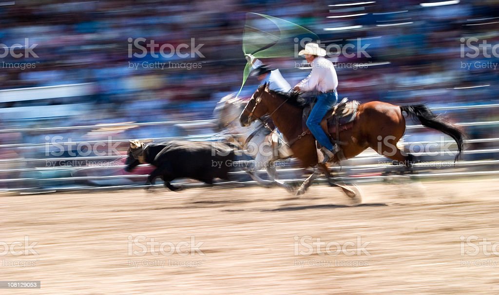 Cowboys royalty-free stock photo
