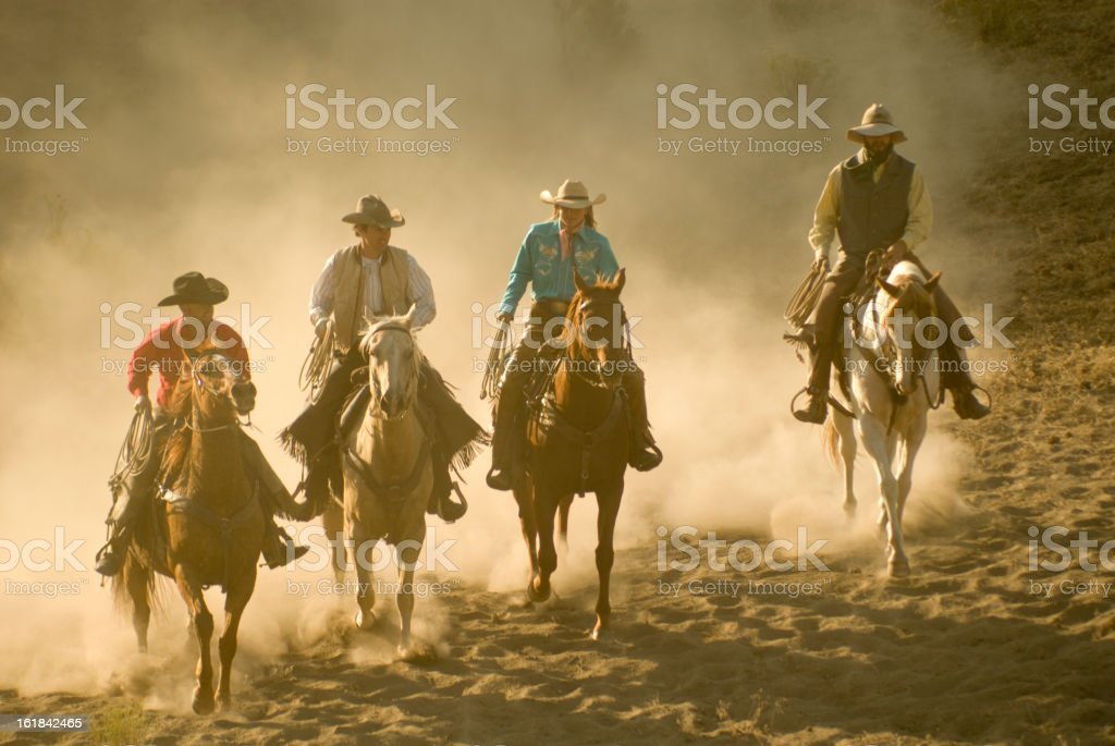 cowboys stock photo