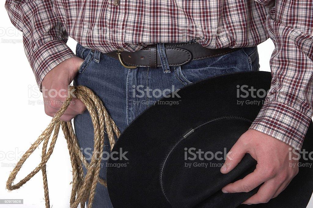Cowboy's tools royalty-free stock photo