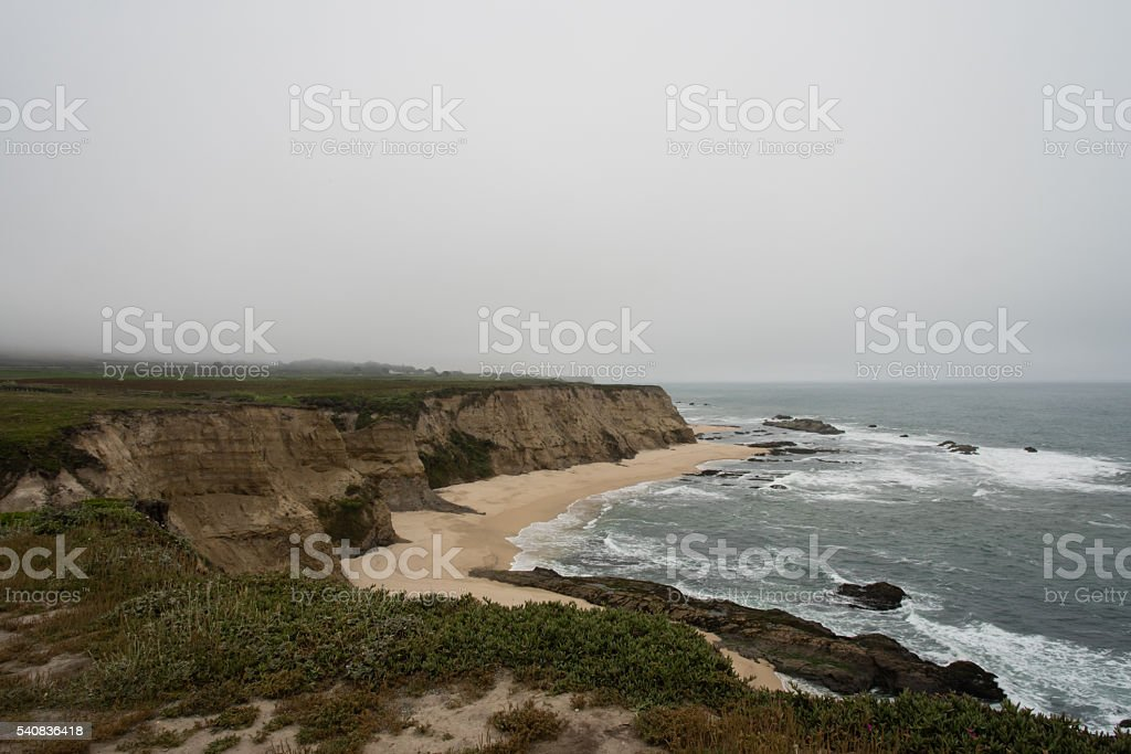Cowell Ranch Beach stock photo