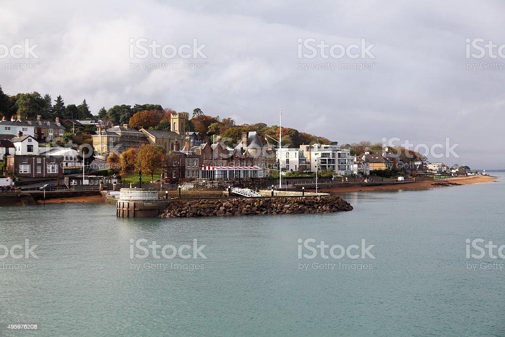 Cowes peninusla,Isle of Wight stock photo