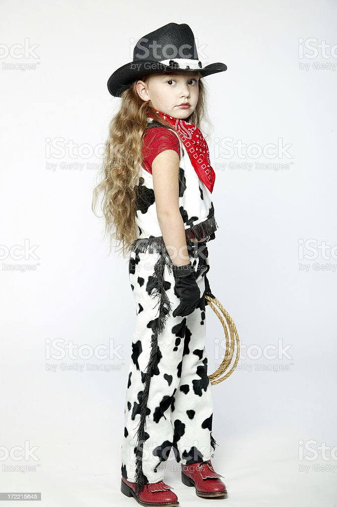 Cowgirl 0009 royalty-free stock photo