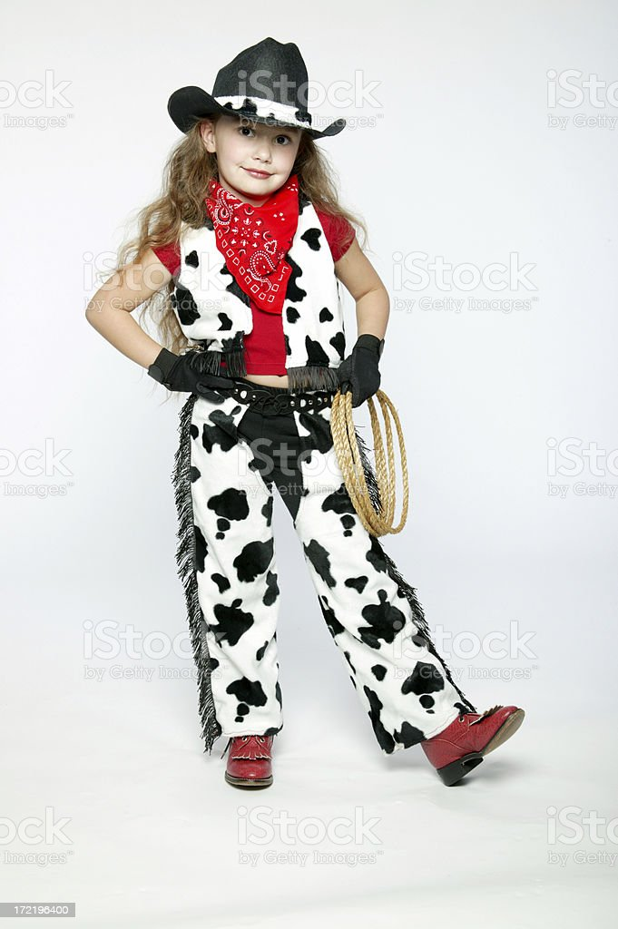 Cowgirl 0012 royalty-free stock photo