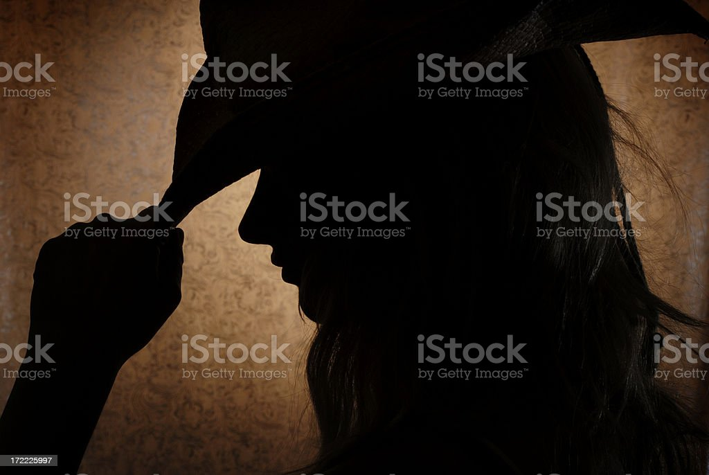 Cowgirl 1 royalty-free stock photo