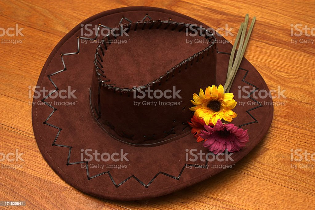 Cowgirl Hat royalty-free stock photo