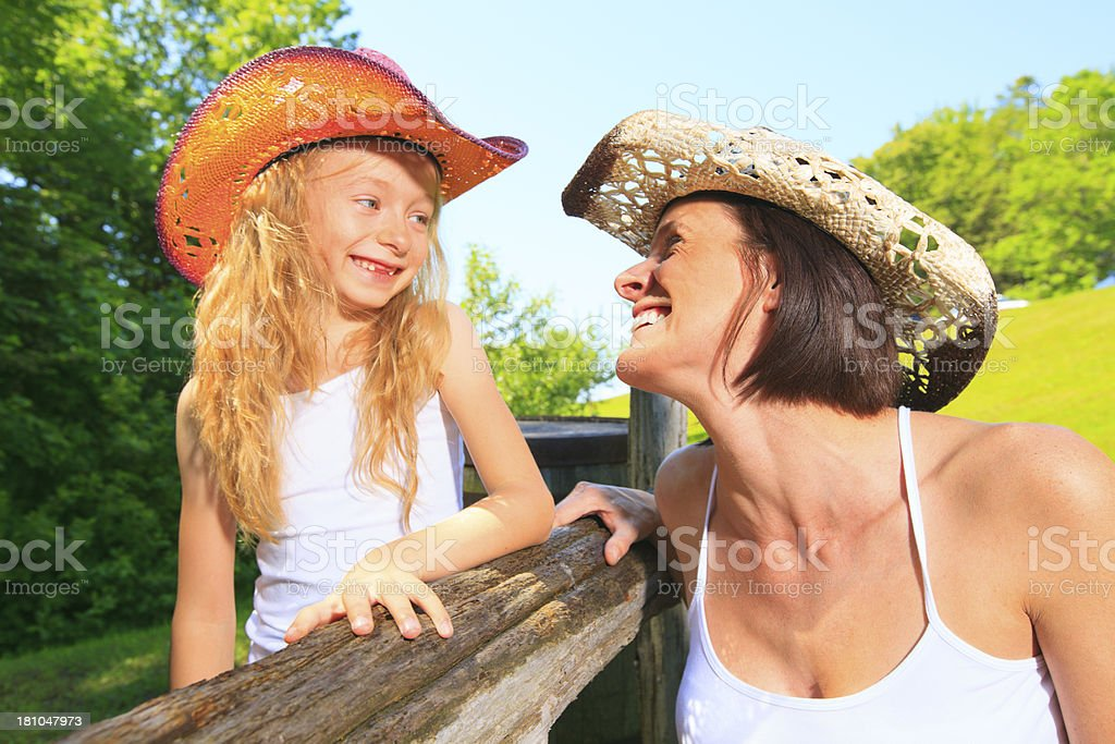 Cowgirl Member royalty-free stock photo