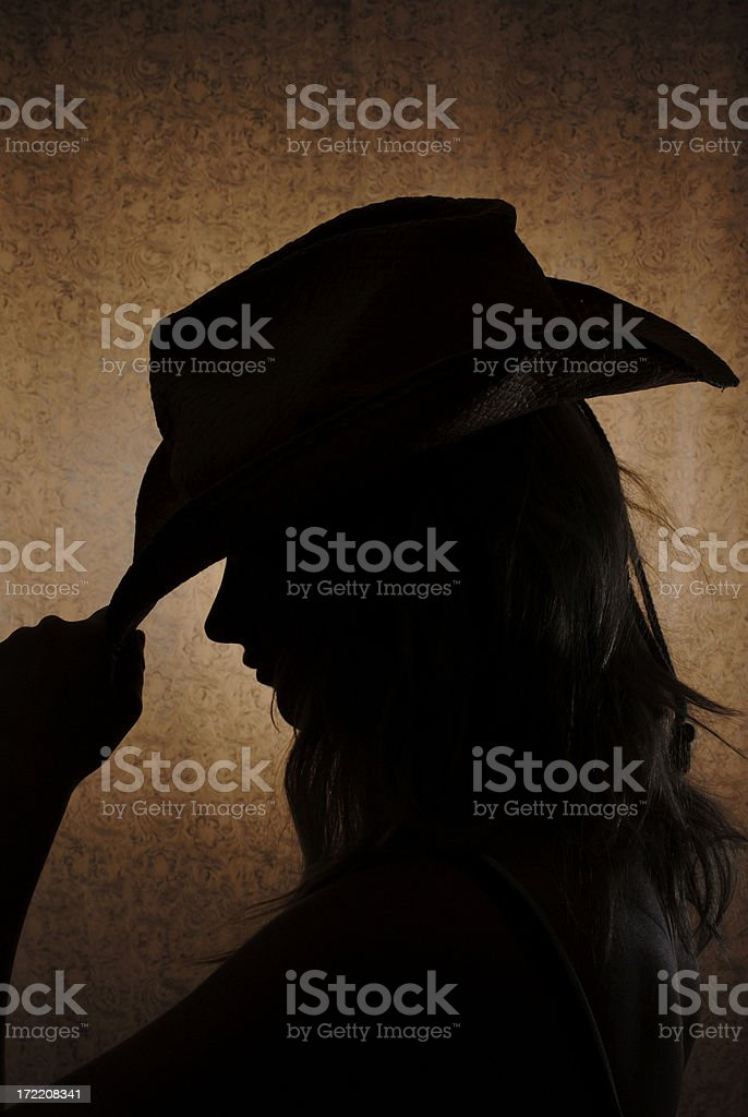 Cowgirl2 royalty-free stock photo