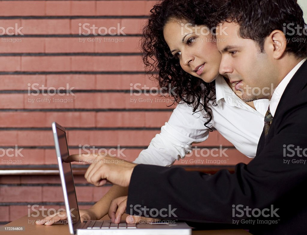 Coworkers 2 royalty-free stock photo