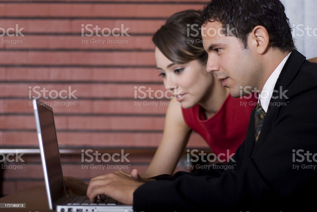 Coworkers royalty-free stock photo