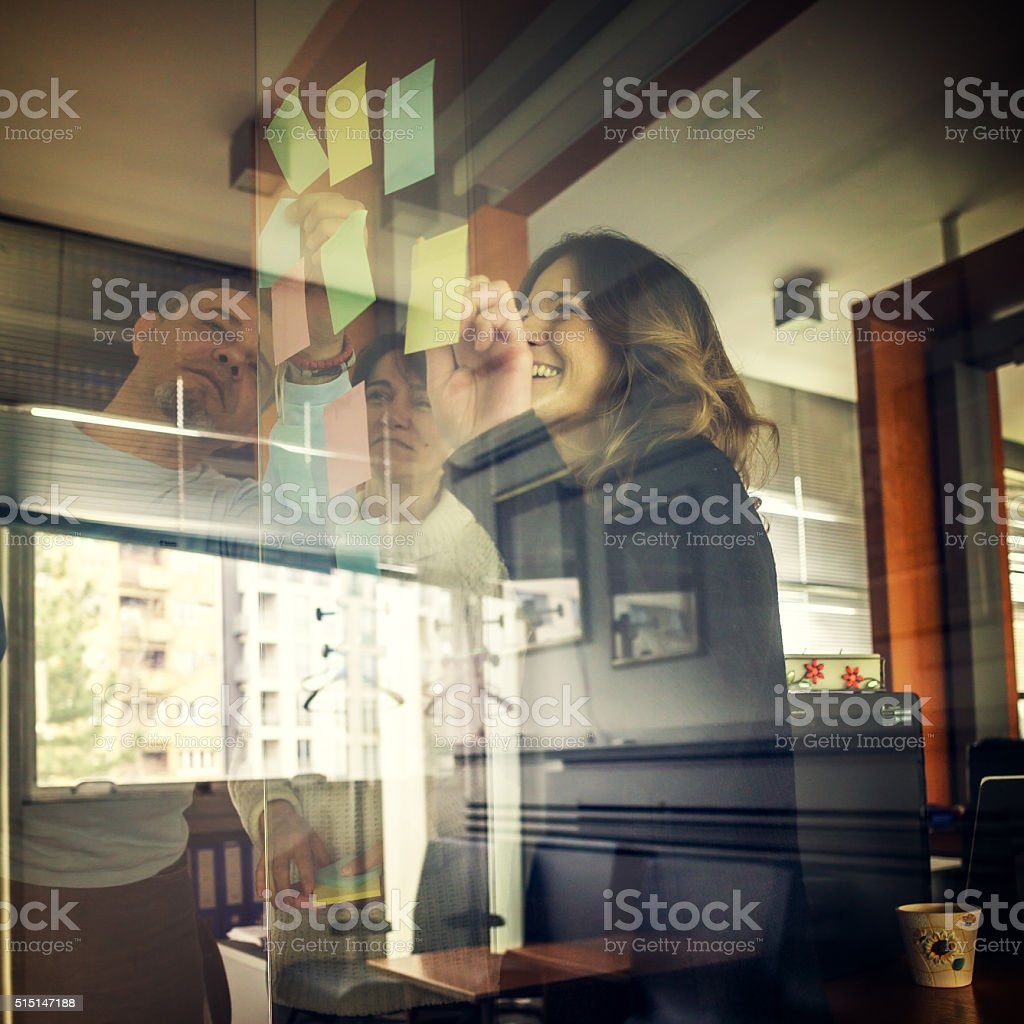 coworkers stock photo