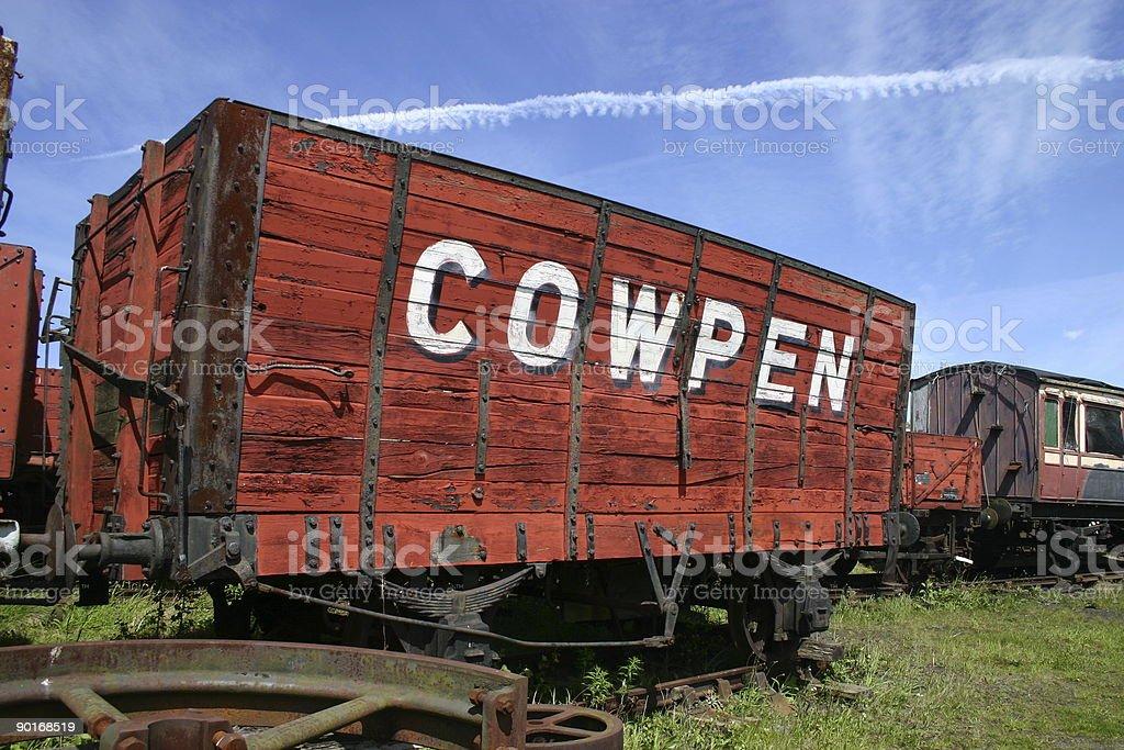 cowpen stock photo