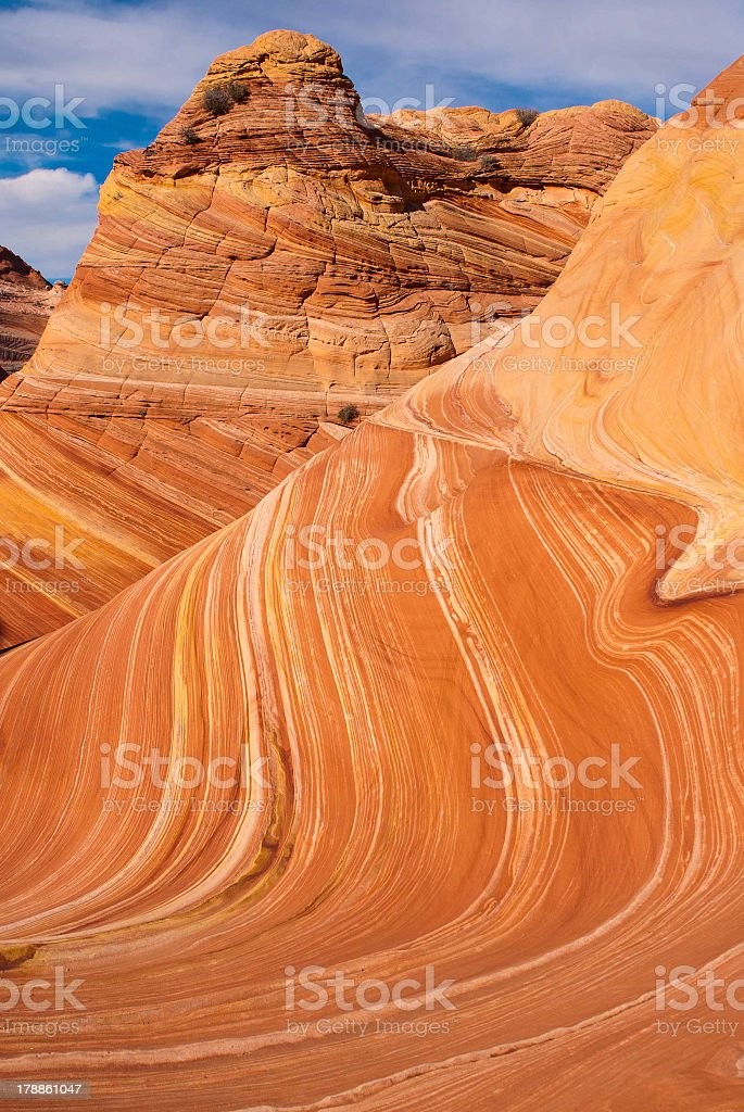 Coyote Buttes and The Wave royalty-free stock photo