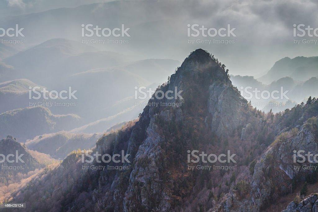 Cozia Mountains, Romania stock photo
