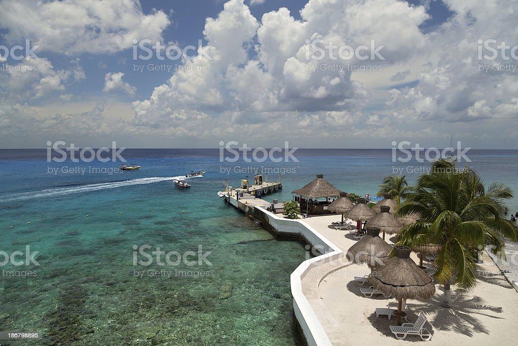 Cozumel, Mexico stock photo