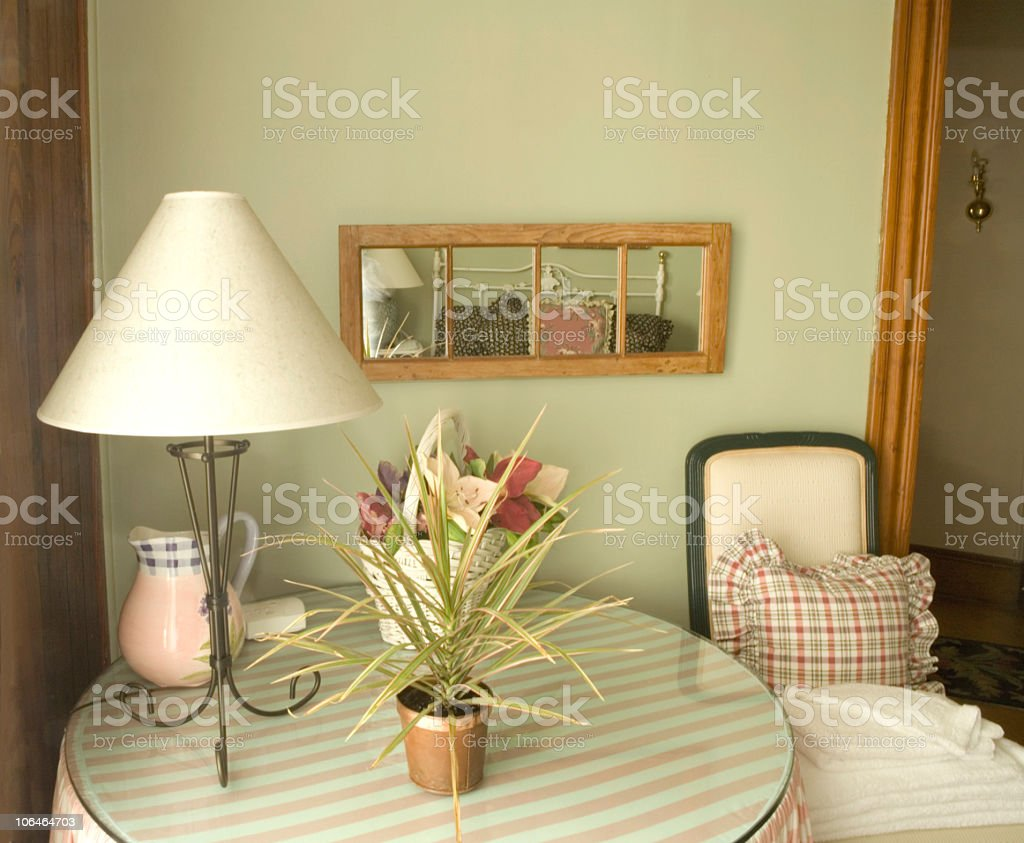 Cozy Corner stock photo