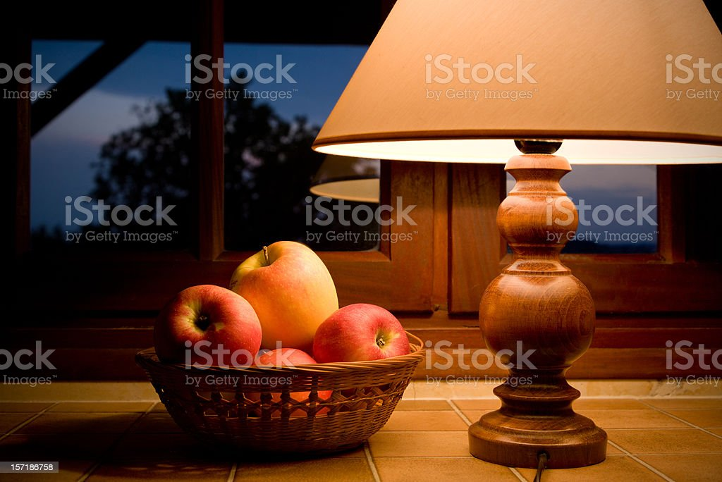 Cozy evening royalty-free stock photo