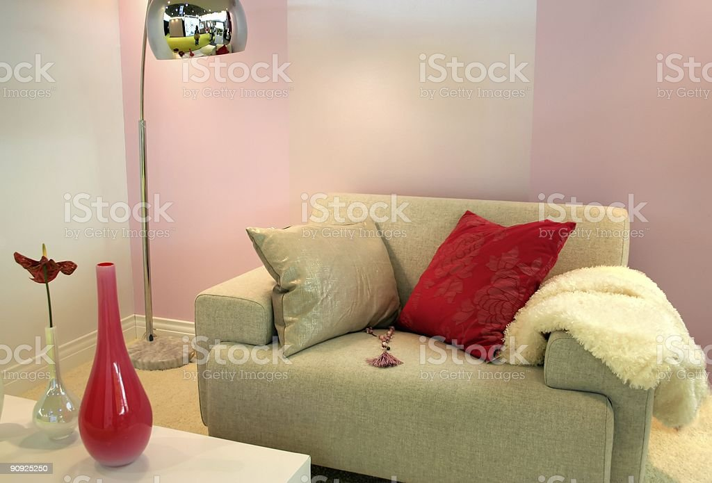 cozy interior royalty-free stock photo