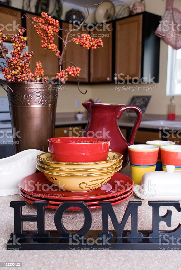 Cozy kitchen royalty-free stock photo
