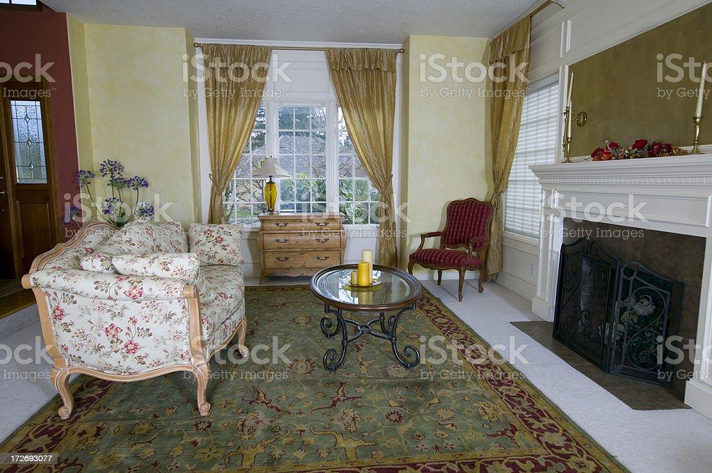 Cozy Living Room royalty-free stock photo