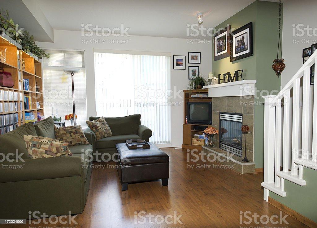 Cozy Lving Room royalty-free stock photo