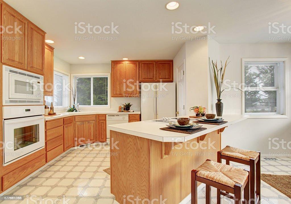 Cozy modern living room with blue carpet floor stock photo