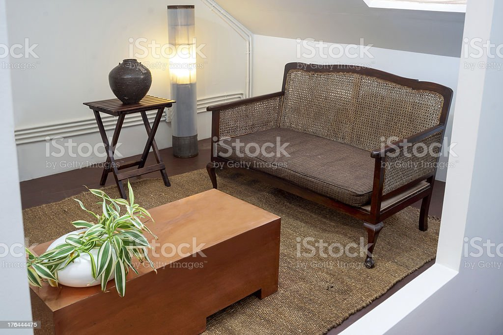 Cozy through the window royalty-free stock photo