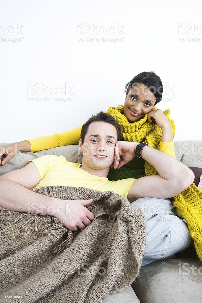 Cozy together royalty-free stock photo