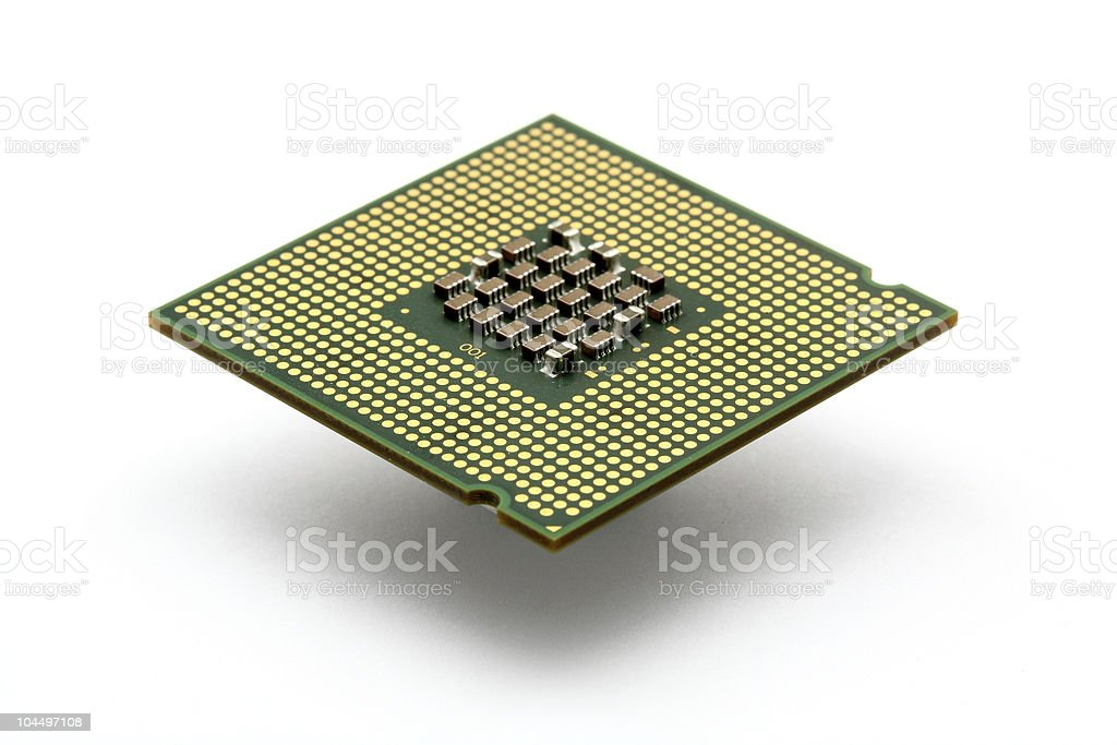 cpu processor royalty-free stock photo