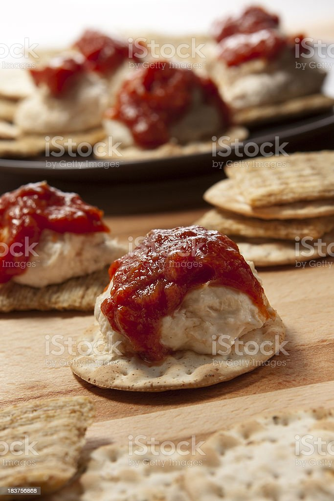 Crab Ball Appetizer stock photo