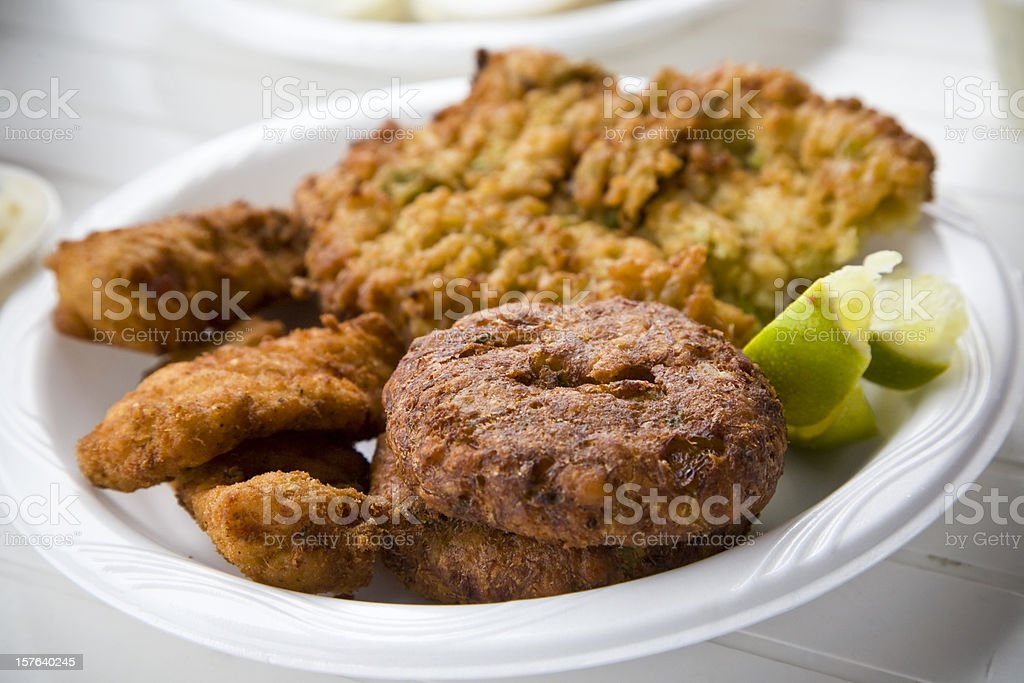 Crab Cake stock photo