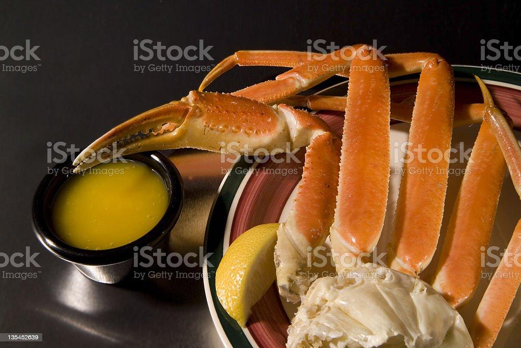 crab legs stock photo