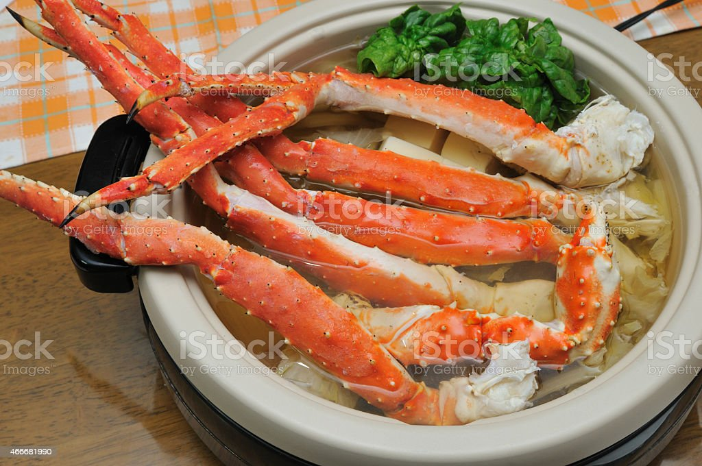 Crab pot stock photo