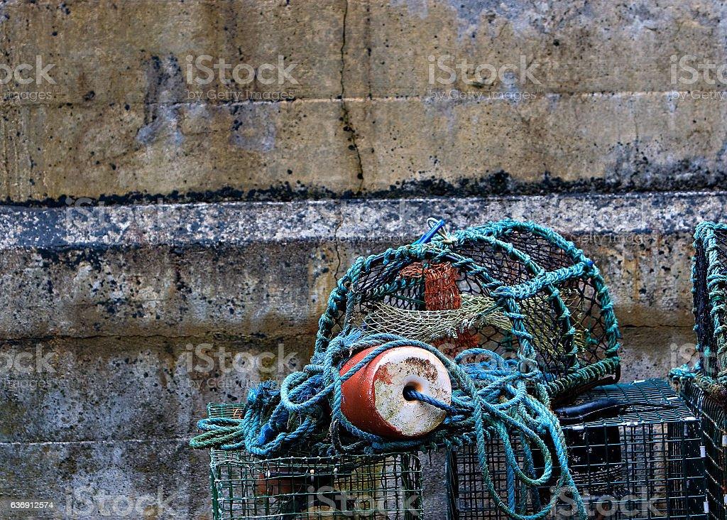 Crab Pot stock photo