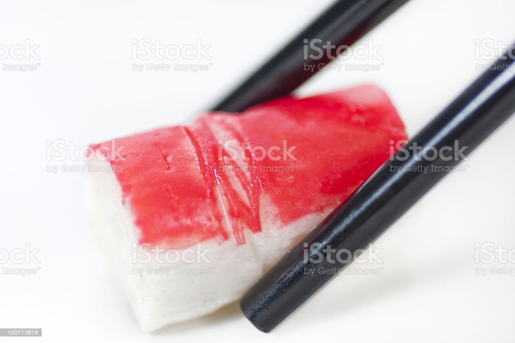 Crab stick stock photo